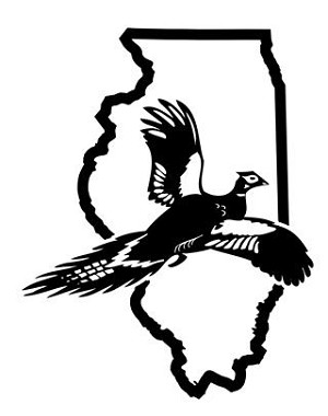 Illinois Pheasant Hunting Decal Sticker