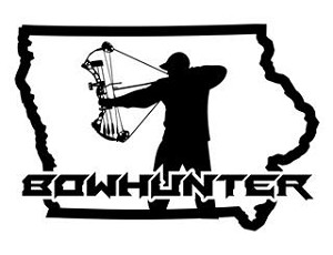Iowa Bowhunter v3 Decal Sticker
