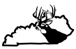 Kentucky Deer Hunting Decal Sticker