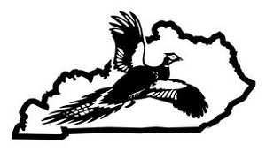Kentucky Pheasant Hunting Decal Sticker
