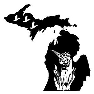 Michigan Duck Hunting Decal Sticker