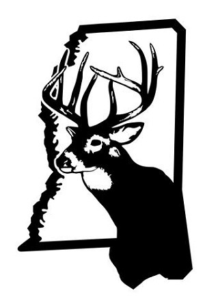 Mississippi Deer Hunting Decal Sticker