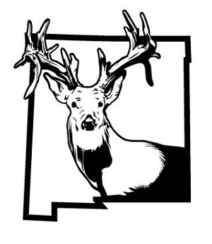 New Mexico Deer Hunting v2 Decal Sticker