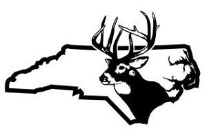 North Carolina Deer Hunting Decal Sticker