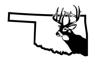 Oklahoma Deer Hunting Decal Sticker