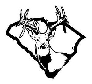 South Carolina Deer Hunting v2 Decal Sticker