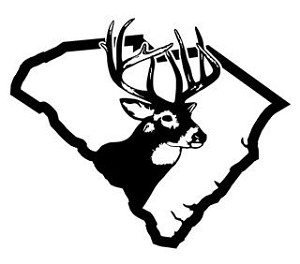 South Carolina Deer Hunting Decal Sticker