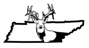 Tennessee Deer Hunting v2 Decal Sticker