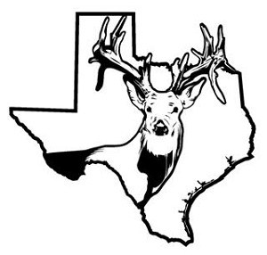 Texas Deer Hunting v2 Decal Sticker