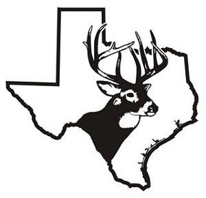 Texas Deer Hunting Decal Sticker