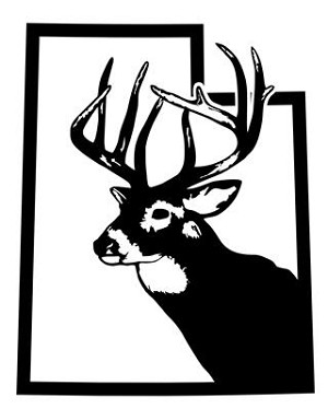 Utah Deer Hunting Decal Sticker