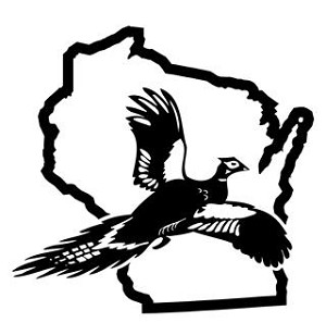 Wisconsin Pheasant Hunting Decal Sticker