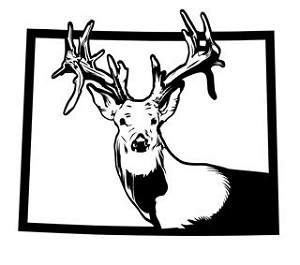 Wyoming Deer Hunting v2 Decal Sticker